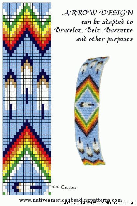 free printable american beading patterns 1201741 arrow design free bead pattern american memes