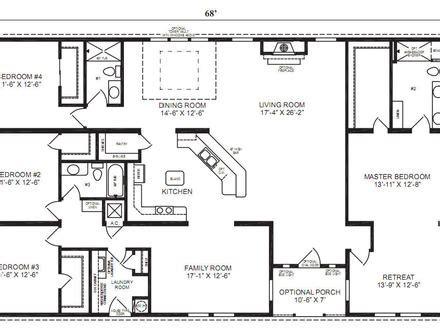 floor plans for mobile homes wide mobile homes floor plans wide house design plans