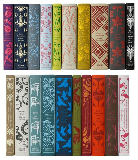 beautiful pictures of books penguin s clothbound classics a book