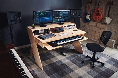 design studio desk output s platform could be the home studio desk musicians want