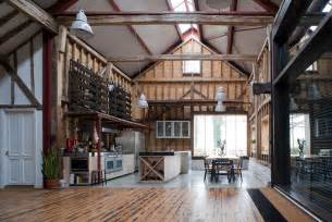 barn home interiors barn conversion puts reclaimed materials to use