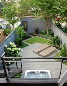 garden ideas for backyard am 233 nagement petit jardin de ville 11 id 233 es via