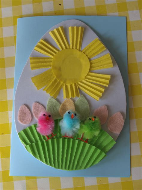 easter cards to make for children easter crafts for here come the