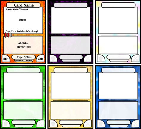 template to make a card card template by kazaire on deviantart