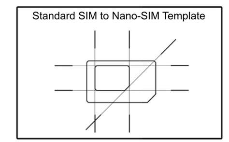 how to make sim card into micro sim micro sim template micro sim card to standard sim card