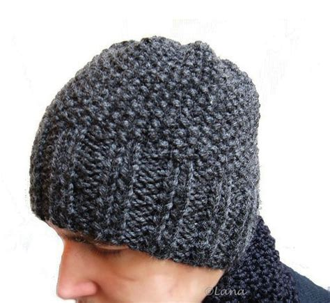mens knit hat pattern circular needles pattern in pdf knitted hat beanie n15 gifts shop