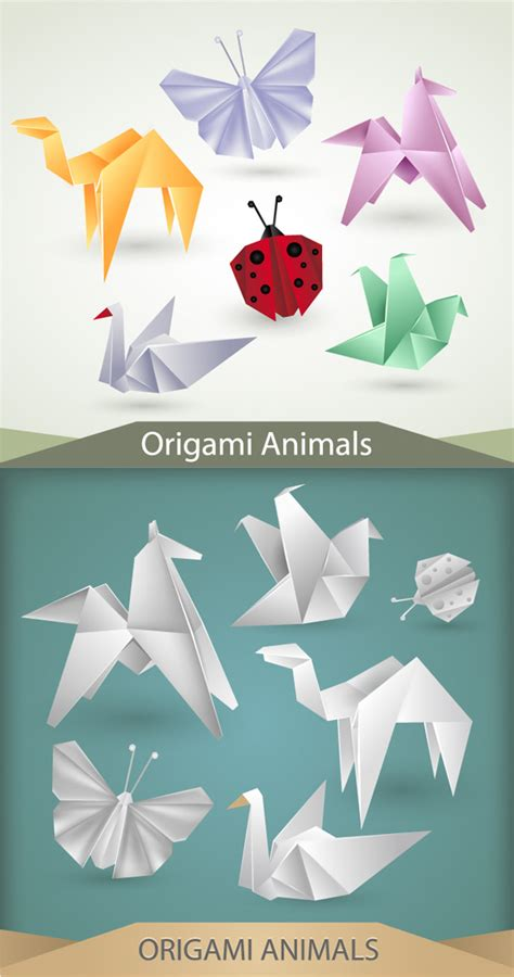 creative origami creative origami graphics other vector
