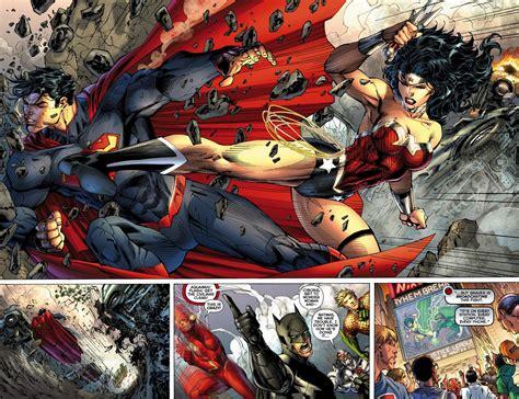 comics vs new 52 superman v s battles comic vine