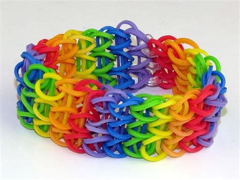 loom patterns loom band pattern step by step pictures