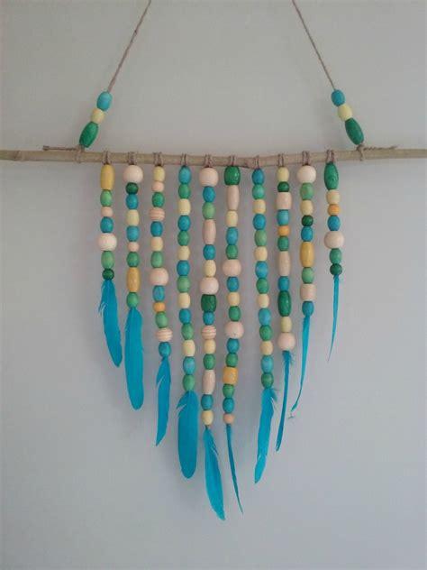 bead wall beaded wall hanging felt