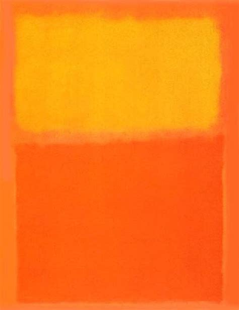 paint colors yellow orange rothko orange and yellow painting framed paintings