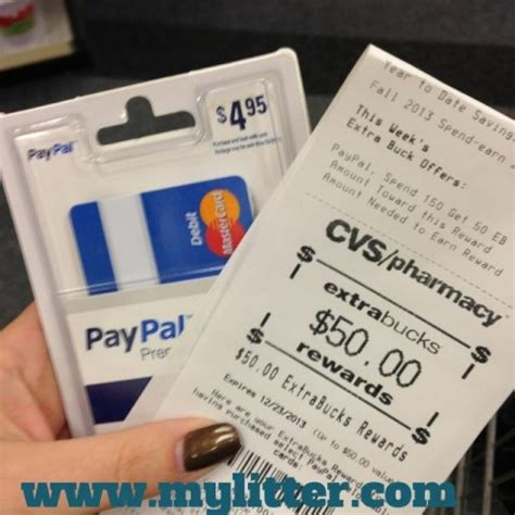 how to make a paypal card wow 45 money maker at cvs