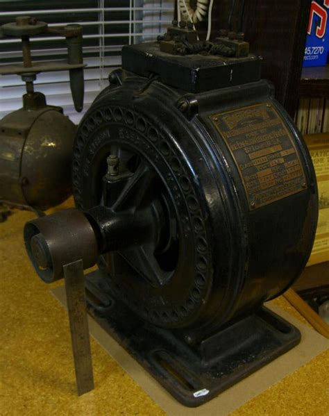 Antique Electric Motor by Electric Motors