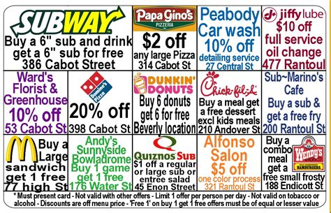 how to make discount cards fundraising discount cards are the most popular