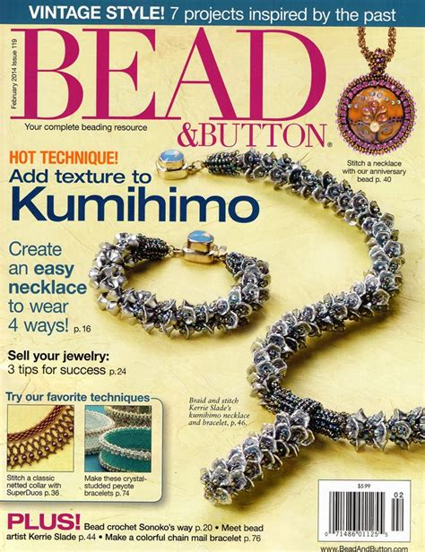 bead and button bead button magazine subscription discount 1 year