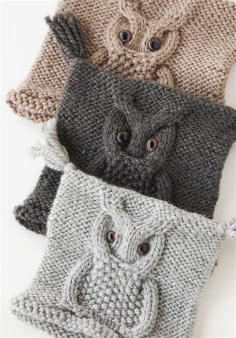 knitting patterns for owls knit owl hat pattern a knitting
