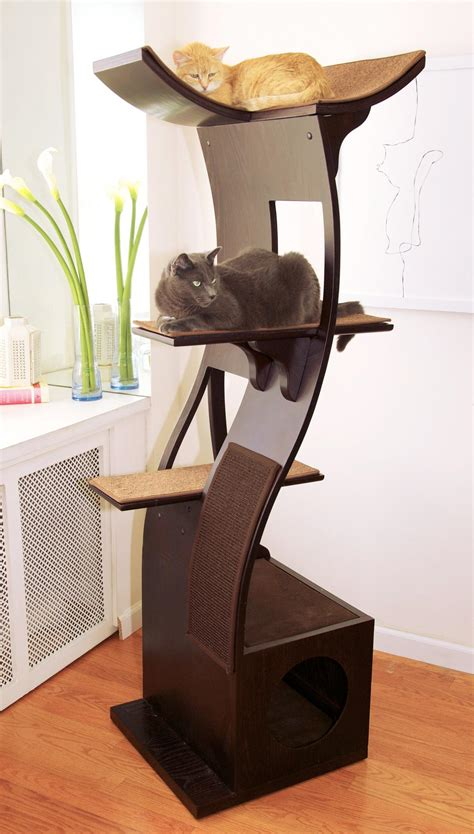 tree for cats the refined feline lotus cat tower in