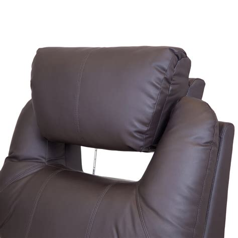 real leather recliner swivel chairs cinemo real leather recliner chair rocking swivel