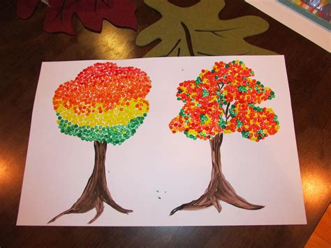 4th grade craft projects wesselworld living loving and laughing autumn trees