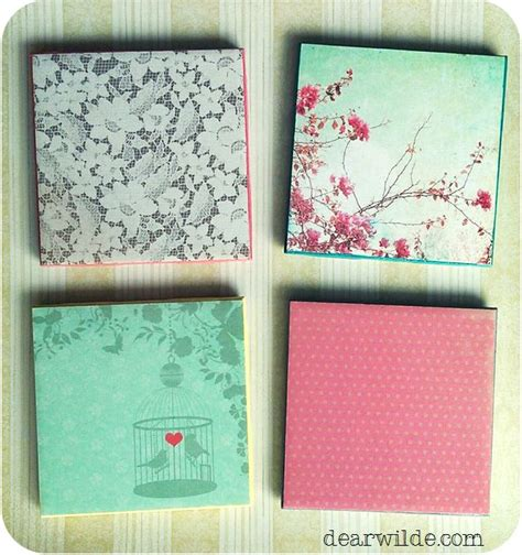 tile craft projects diy drink coaster tiles craft ideas