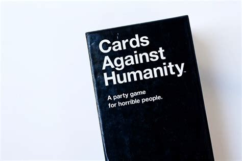 against humanity cards against humanity savvy eats