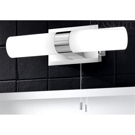 bathroom mirror lights with shaver socket franklite 2 light mirror switched bathroom light with
