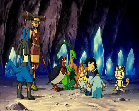 lucario and the mystery of mew the mystery of mew and lucario images images