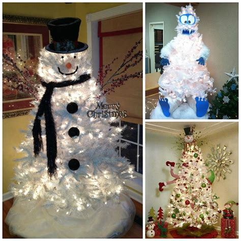 white tree decoration ideas clever white tree decorating ideas crafty morning