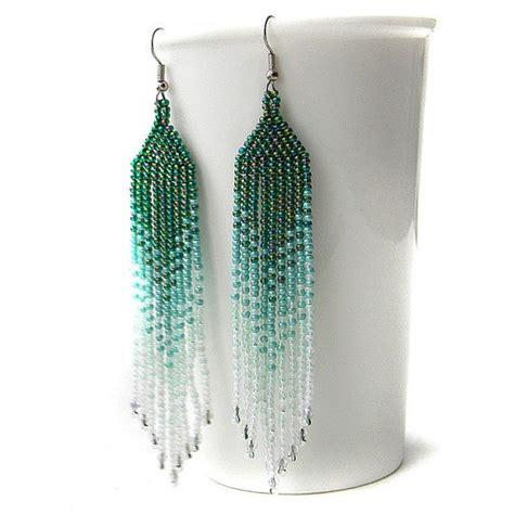 beaded fringe earrings tutorial best 25 beadwork ideas on seed bead tutorials