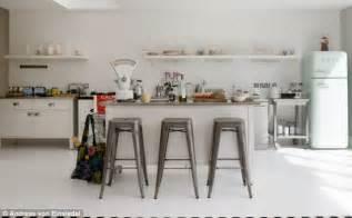 Ikea Wooden Kitchen Trolley by Modern Retro Kitchen Daily Mail Online