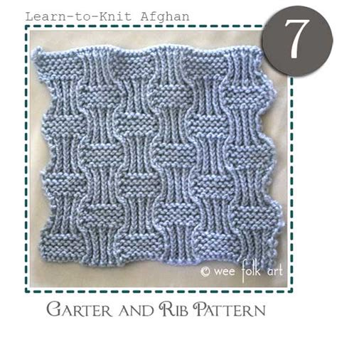 how does it take to learn to knit learn to knit afghan block seven 187 wee folk