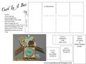 how to make a box from a card card in a box file make the cut forum