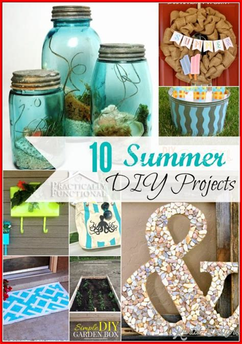 diy summer craft projects diy projects summer home designs home decorating