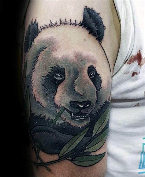 100 oso panda dise 241 os de tatuajes para los hombres ideas