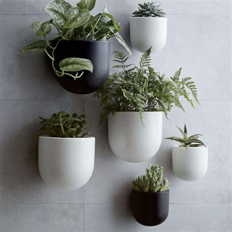 modern ceramic planter ceramic wall planters mad about the house