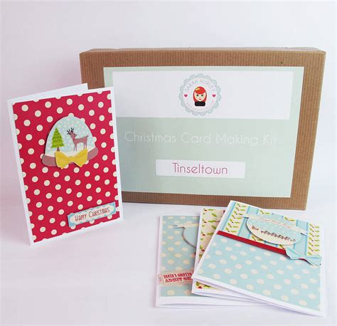 card kits tinseltown card kit by hurley