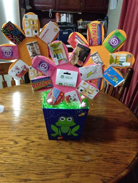 how to make a gift card basket gift card basket