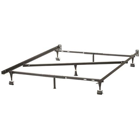 heavy duty bed frames fastfurnishings heavy duty 7 leg adjustable metal