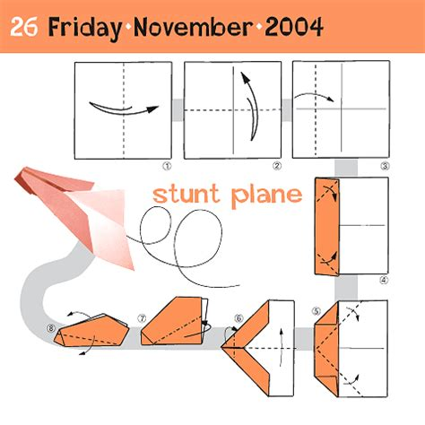 how to make origami planes how to fold a stunt plane november 26