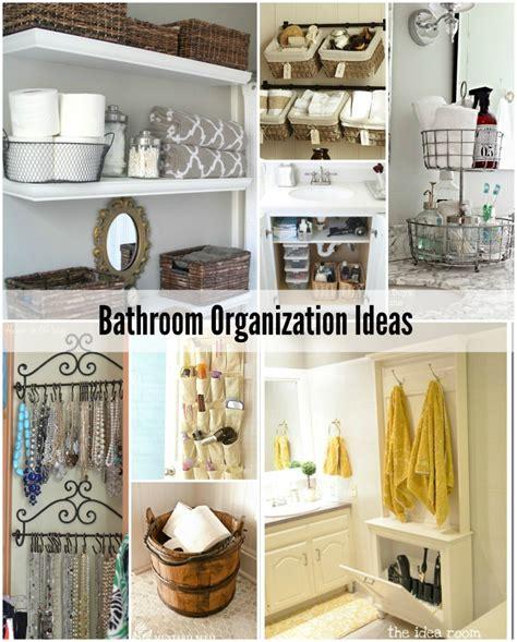 organized bathroom ideas bathroom organization tips the idea room