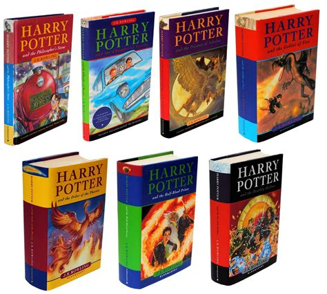 harry potter picture books the influential harry potter books bloglet
