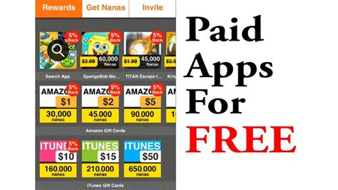 apps for cards how to get paid apps gift cards for free with appnana