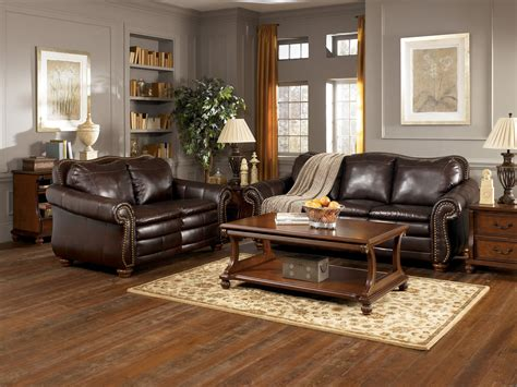 decorating a living room with brown leather furniture how to decorate a living room with brown leather