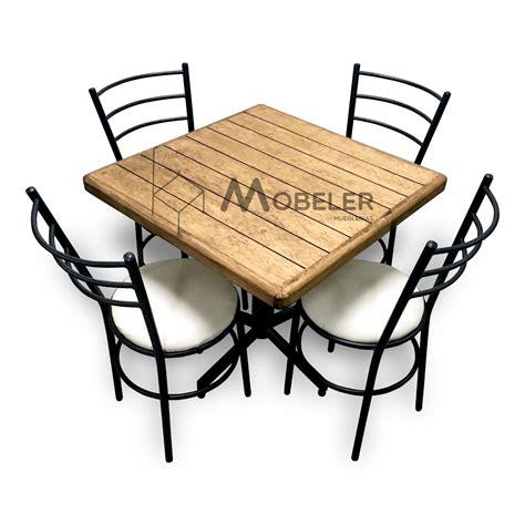 sillas y mesas para cafeterias mesa de madera sillas para restaurante bar cafeter 237 a