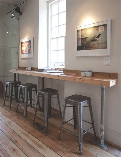kitchen cafe table x note small profile to wall slightly