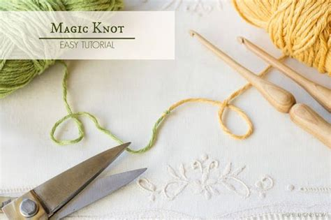 magic knot knitting how to the magic knot yarn join easy tutorial