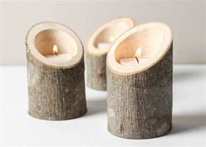 candle holders diy candle holders wood
