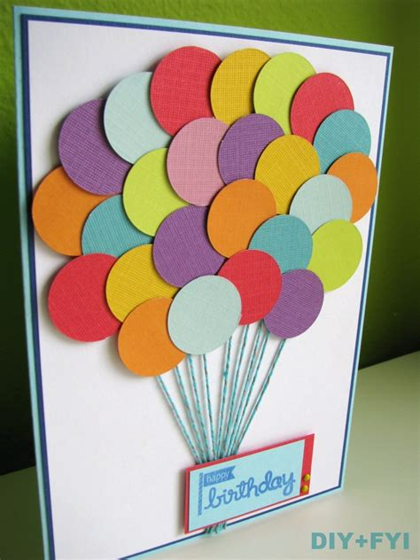 make birthday card for diy fyi creatively created