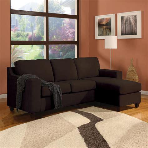 acme sectional sofa acme furniture vogue chocolate micro fiber sectional sofa