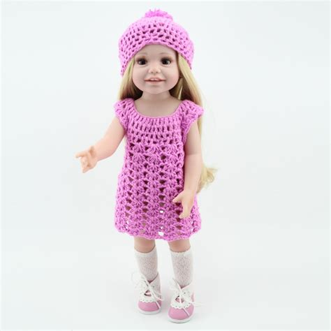 how to knit doll clothes aliexpress buy wholesale dolls clothes purple knit